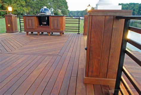 hardwood decking hardwood lumber  deckdock projects