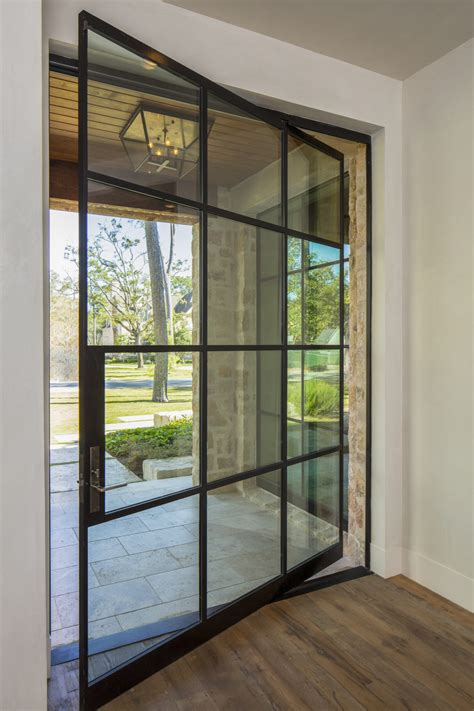 Custom Metal Doors by Custom Steel Glass Doors Portella