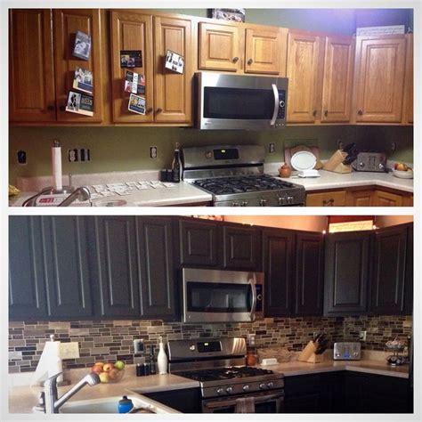 kitchen redux transform honey oak cabinets  sleek