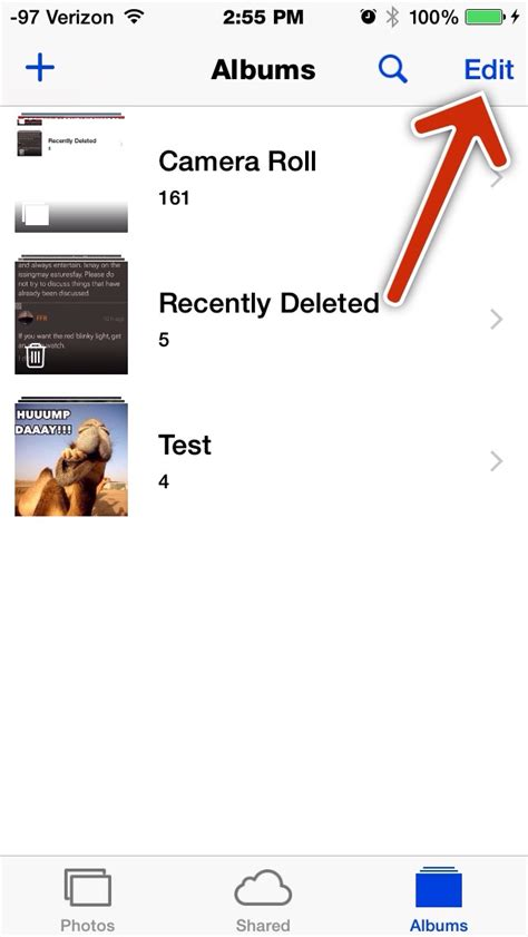 how to delete photos from iphone 5s how do i delete certain photo albums from my iphone 5s