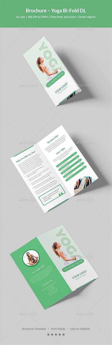 Dl Brochure Template by Brochure Bi Fold Dl By Artbart Graphicriver