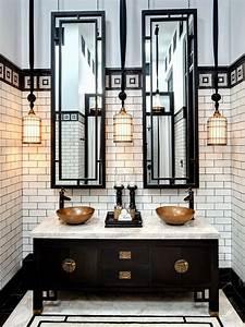 Decoración de baños para restaurantes, cafeterías, bares