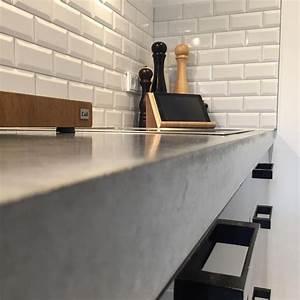 Sichtestrich Selber Machen : die besten 25 beton arbeitsplatten ideen auf pinterest zementplatten diy beton ~ Markanthonyermac.com Haus und Dekorationen