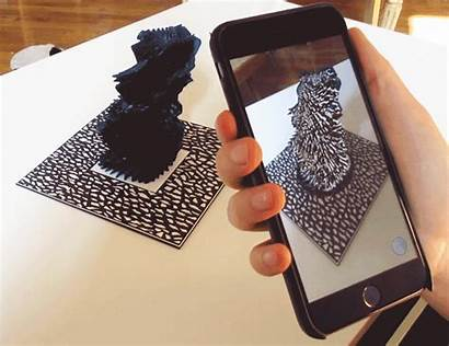 3d Sound Sculptures Printed Reify Reality Augmented
