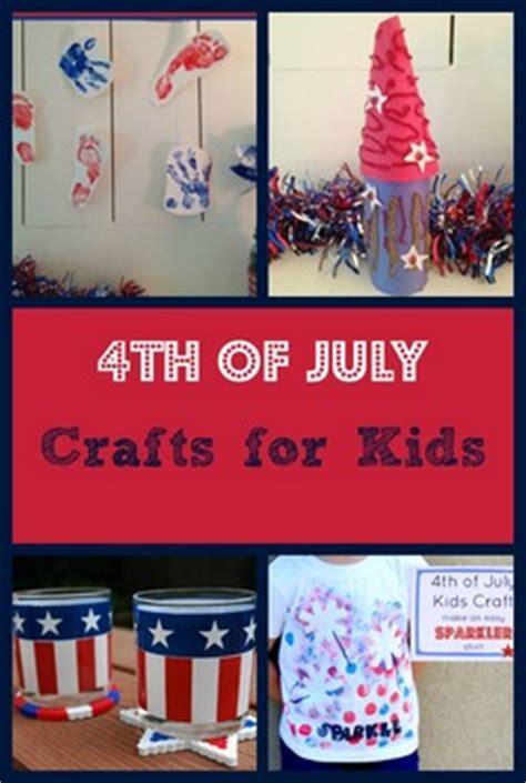 fun patriotic   july crafts  kids
