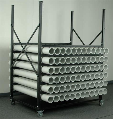 stackbin custom projects horizontal rod storage rack