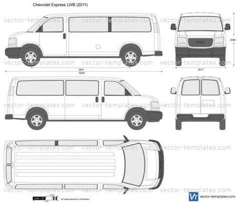 express template templates cars chevrolet chevrolet express lwb
