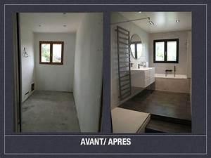 Salle De Bain Avant Après : avant apres salle de bains design 001 sdb pinterest ~ Mglfilm.com Idées de Décoration