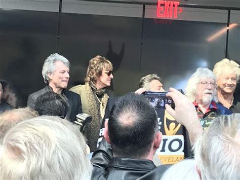 Bon Jovi Surprises Fans Rock Hall Fame The Blade