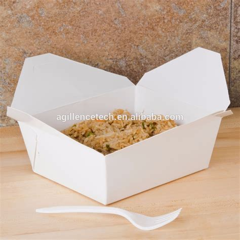 box cuisine simple design take out food container disposable custom