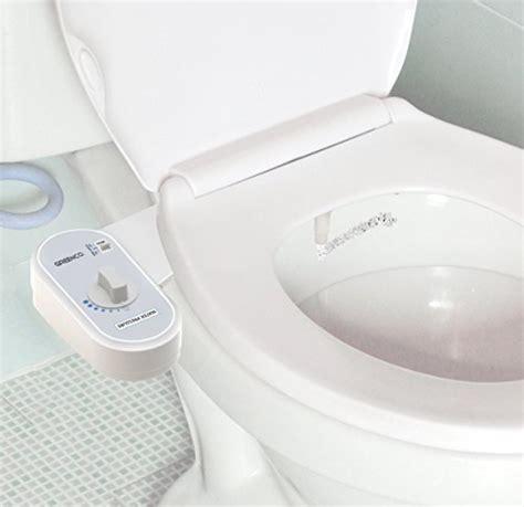 greenco bidet fresh water spray non electric mechanical bidet toilet seat