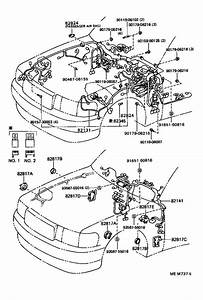 Lexus Ls 400 Protector  Wiring Harness  No  2  Electrical