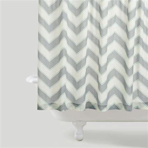 zigzag shower curtain west elm