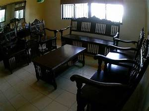 8 Piece Narra Sala Set In Good Condition FOR SALE From