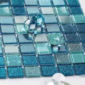 Square, Glass, Tile, Bathroom, Powder, Mosaic, Patterns, Washroom, Wall, Blue