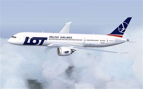 LOT Polish Airlines Boeing 787-8 V2 for FSX