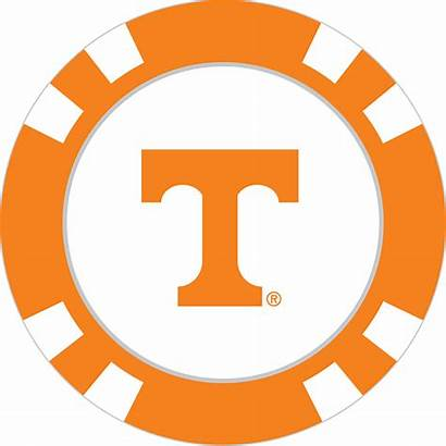 Tennessee Volunteers Poker Chip Ball Marker