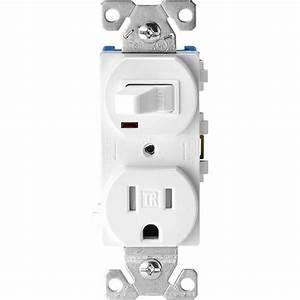 Eaton 15 Amp Tamper Resistant Combination Single Pole