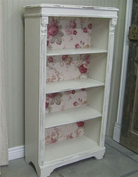 bookcase shabby chic romantic shabby chic diy project ideas tutorials hative