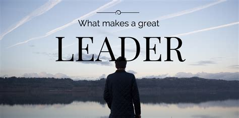 What Makes A Great Leader?  Smart Circle