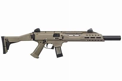 Scorpion Cz 9mm Fde Suppressor Faux Carbine