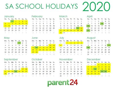 print sas school holiday calendar parent