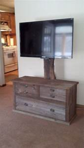 hand crafted barn wood tv stand by rats wood creations With barn board tv stand