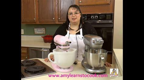 amys stand mixer challenge part ii kitchenaid artisan