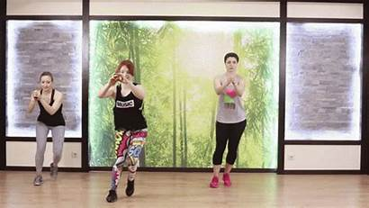 Step Touch Side Slim Legs Hands Tabata