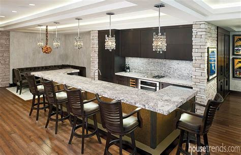 granite countertops top   basement bar