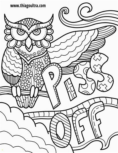 Swear Coloring Words Printable Adults Pdf Unavailable