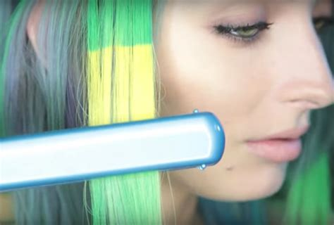 hair changing color hypercolor for hair heat activated color changing hair