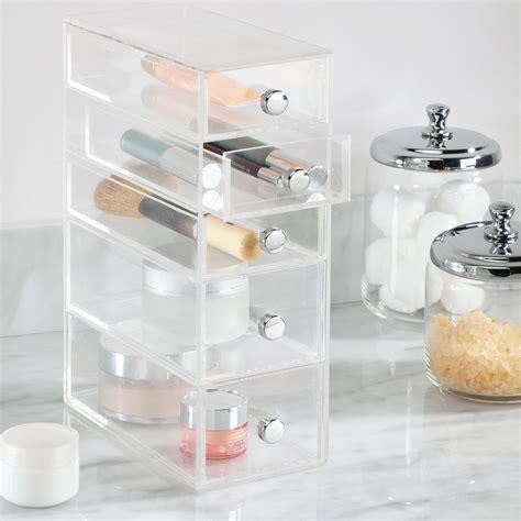 boite a maquillage rangement bo 238 te 224 tiroirs transparente rangement maquillage