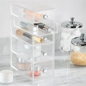 Boite à épices : bo te tiroirs transparente rangement maquillage ~ Teatrodelosmanantiales.com Idées de Décoration