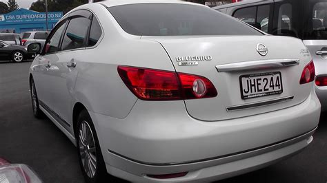 nissan bluebird sold nissan bluebird sylphy axis sedan 2 0 auto 2006