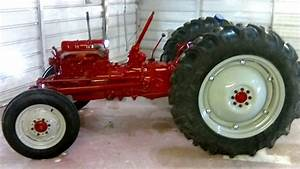 Dustless Blasting A 1953 Ford Naa Tractor And Painted