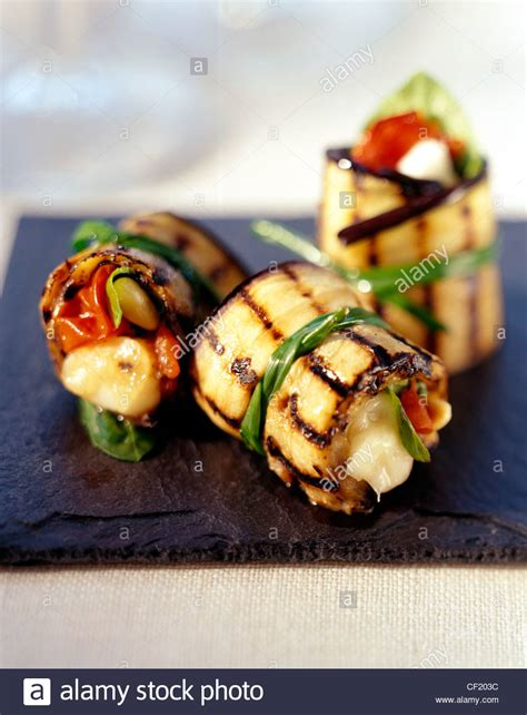 canapé aubergine how to create the canapes chargrilled aubergine