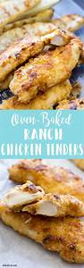 These Oven Baked Ranch Chicken Tenders are such an easy