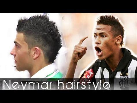 how to style hair like neymar neymar inspired hair style from cristiano ronaldo haircut 3534