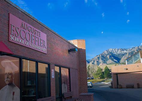 culinary school  boulder colorado escoffier school