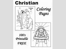 Christian Coloring Pages The Christmas Story