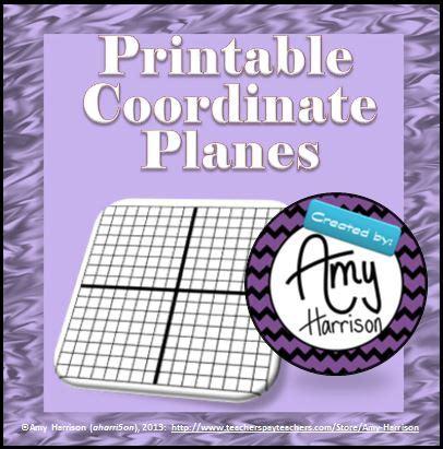 Free Printable Coordinate Plane Worksheets