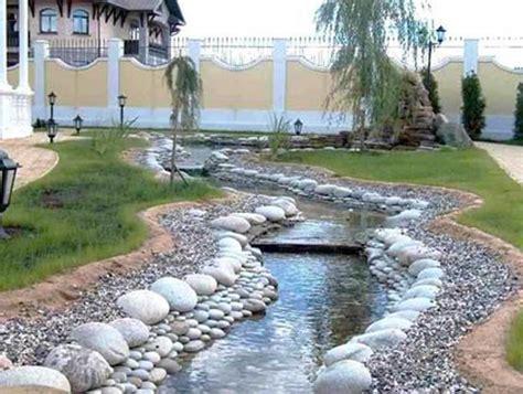 beautiful landscaping ideas adding beach stones