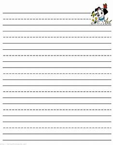 free printable writing paper for second grade pirate With free printable lined paper template for kids