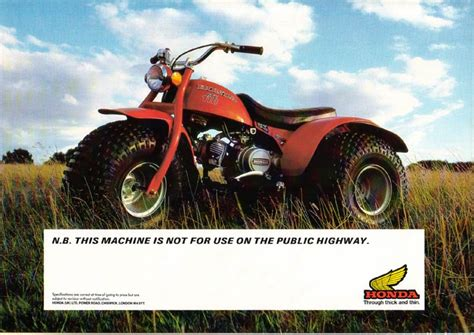 the honda atc brochure site