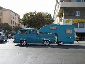 Custom VW 5th Wheel Travel Trailer, I thought this was ...
