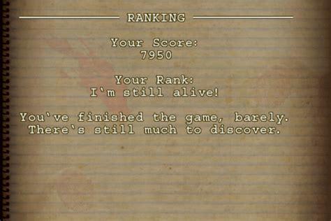 wolfenstein rpg score finished final game