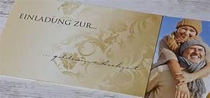 Einladungskarten Für Hochzeit : einladungskarten f r die goldene hochzeit selbst gestalten cari okarten ~ Yasmunasinghe.com Haus und Dekorationen
