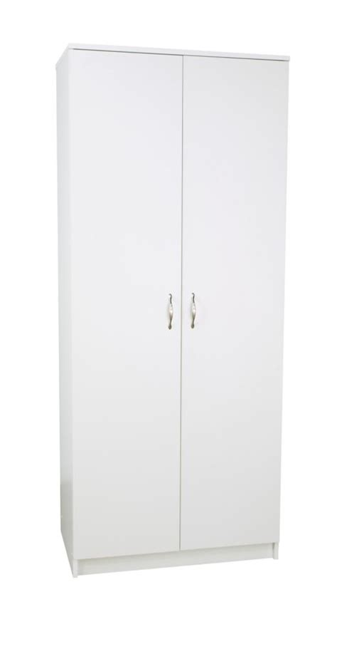30 Inch Wardrobe by Closetmaid Closetmaid Selectives 30 In 48 In White