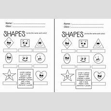 Enjoy Teaching English Shapes (worksheet